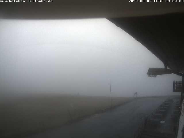 Webcam Belchen-Seilbahn Bergstation
